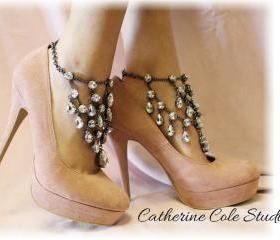 Chandelier Shoe Jewels 1 pr.Amazing New look to make any pair of Heels extra special, weddings,bridal, prom, parties, special occasions SJ5From CatherineColeStudio