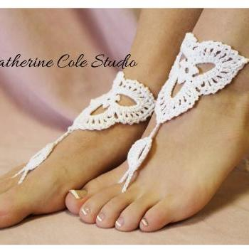 Barefoot sandals foot jewelry Catherine Cole BF-6